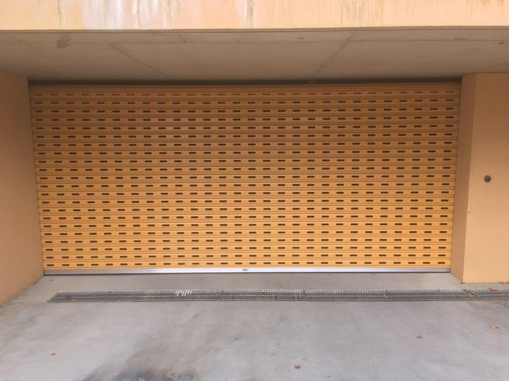 La Bayside Gates And Garage Doors Perforated Roller