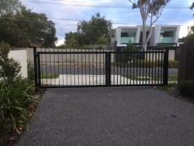 New gates installed in Black Rock
