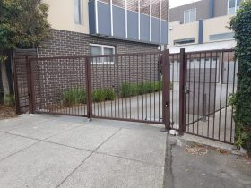 New gates installed in Brunswick